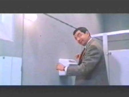 Видео мистер бин в туалете, смотреть онлайн ролик мистер бин в туалете
