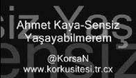 video Ahmet Kaya-Sensiz Yasayabilmirem